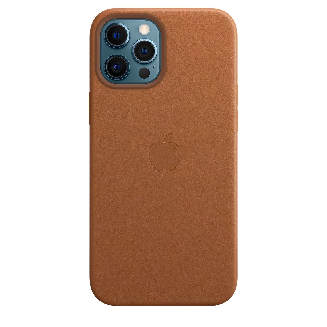 Apple iPhone 12 Pro Max Leather Case with MagSafe Saddle Brown