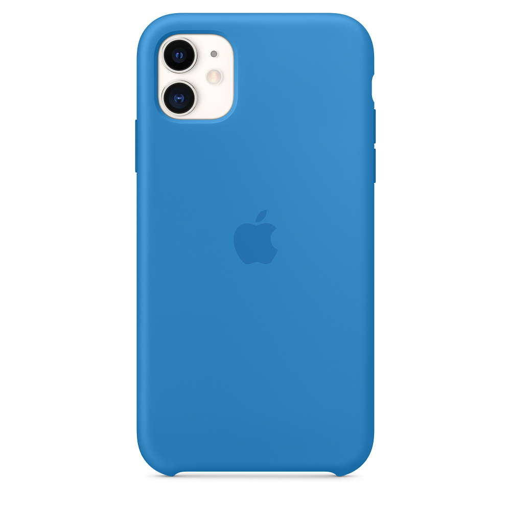 Apple iPhone 11 Silicone Case Surf Blue