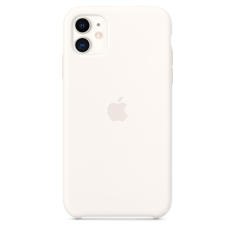 Apple iPhone 11 Silicone Case White