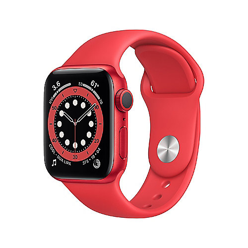 Apple Watch Ser6 Alu PRODUCT(RED) GPS + Cell. 44 mm PRODUCT(RED) Sport Band Regular
