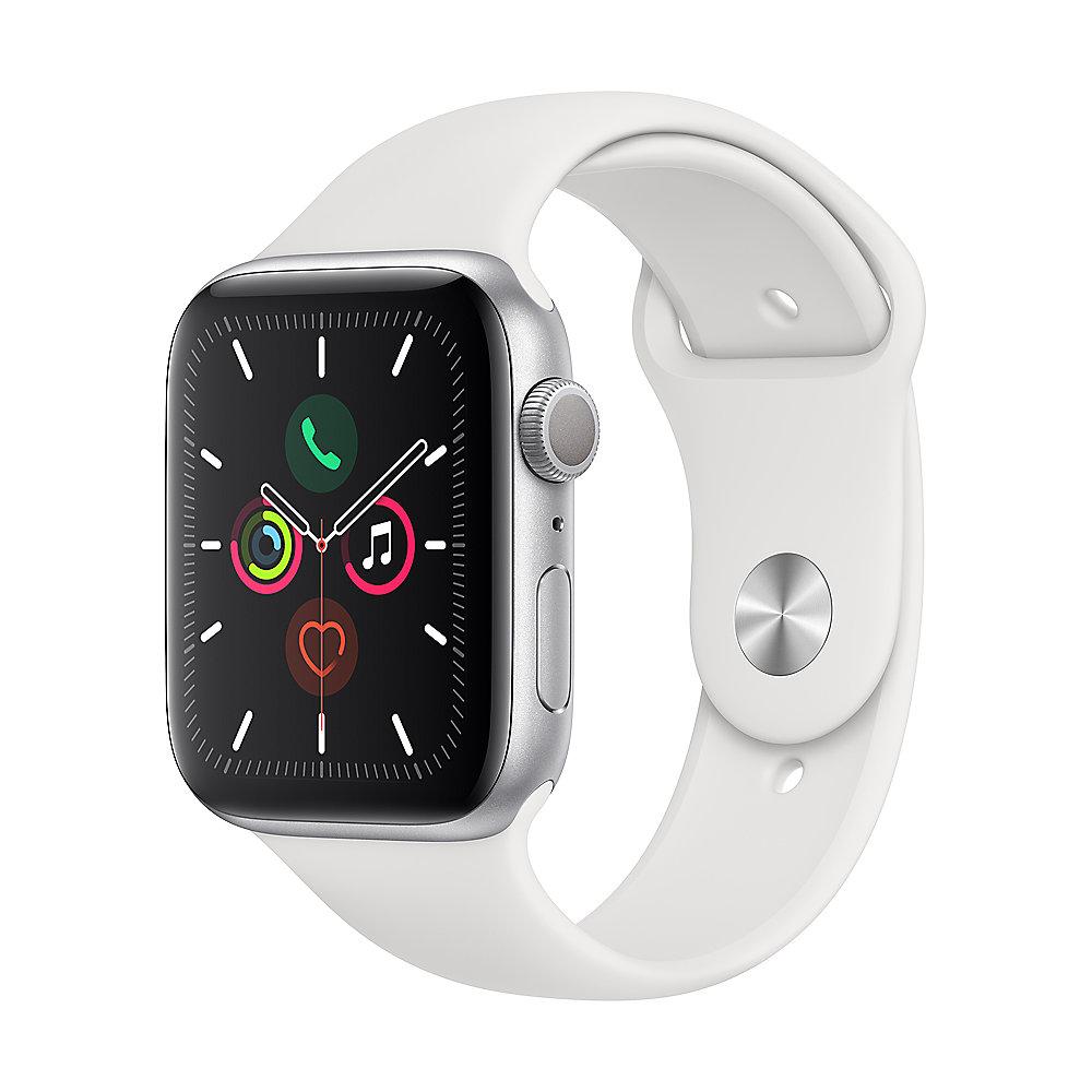 Apple Watch Ser6 Alu GPS Silver 40mm White Sport Band Regular