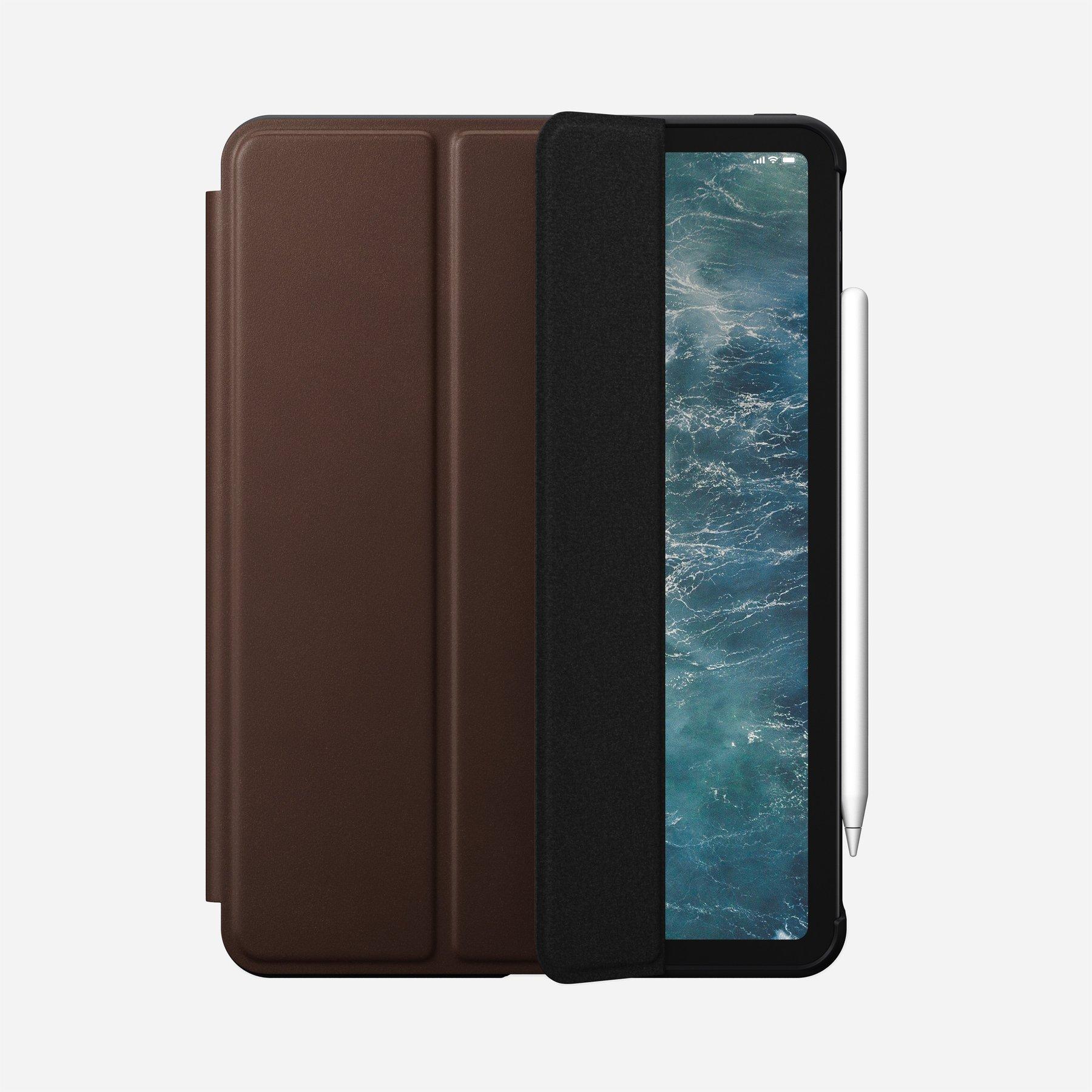 "Nomad Rugged Leather Folio Case für iPad Pro 11"" Rustic Brown"