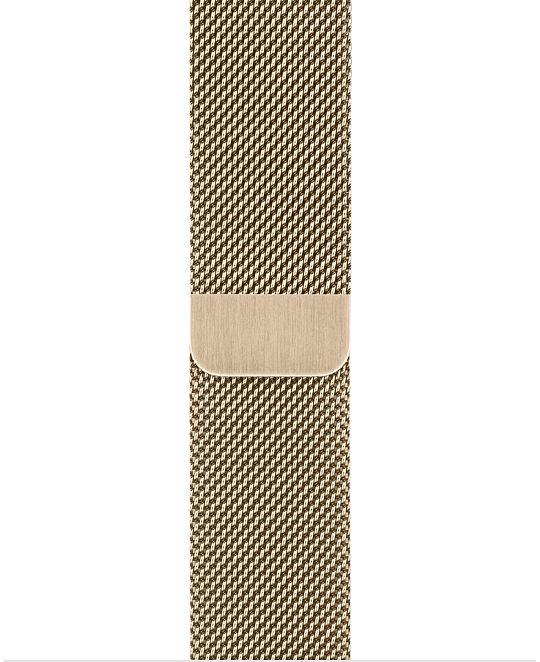 Apple Watch 44 mm Gold Milanese Loop