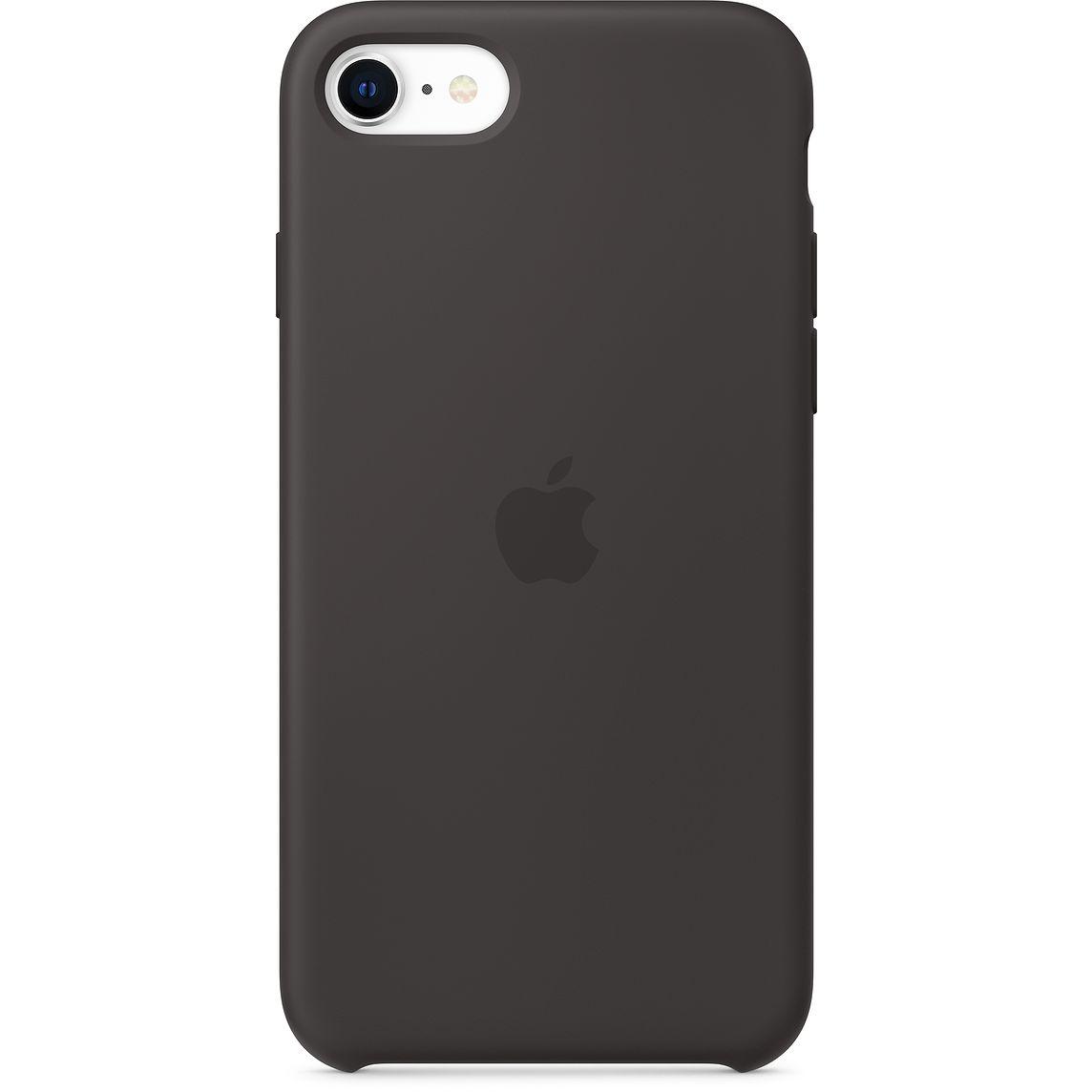 Apple iPhone SE Silicone Case Black (2020)