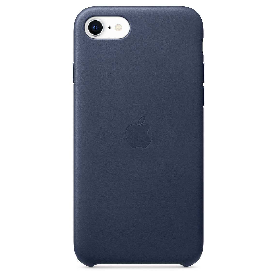Apple iPhone SE Leather Case Midnight Blue (2020)