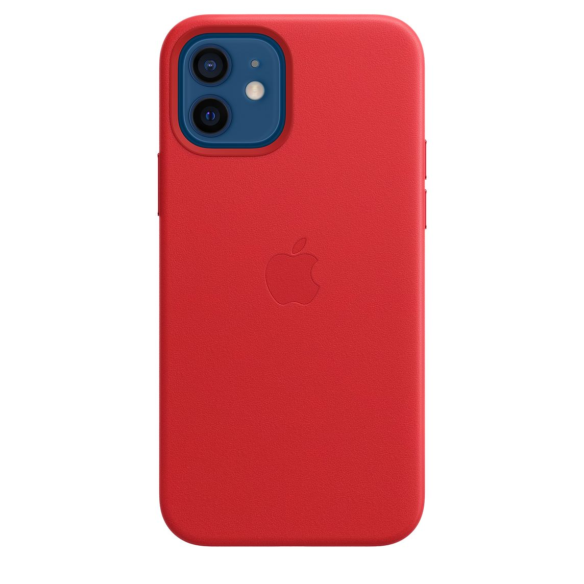 Apple iPhone 12/12Pro Leather Case with MagSafe (PRODUCT)RED