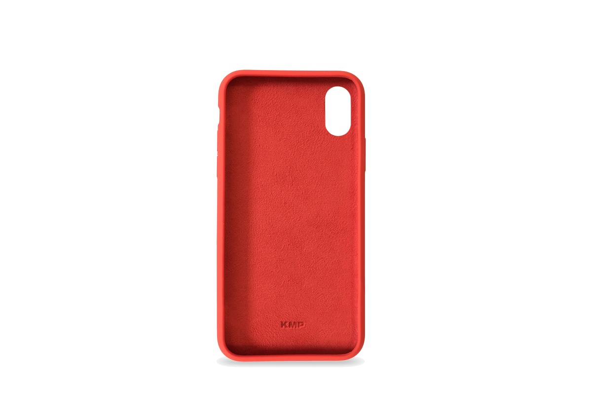 KMP Silicon Case iPhone XR Rot