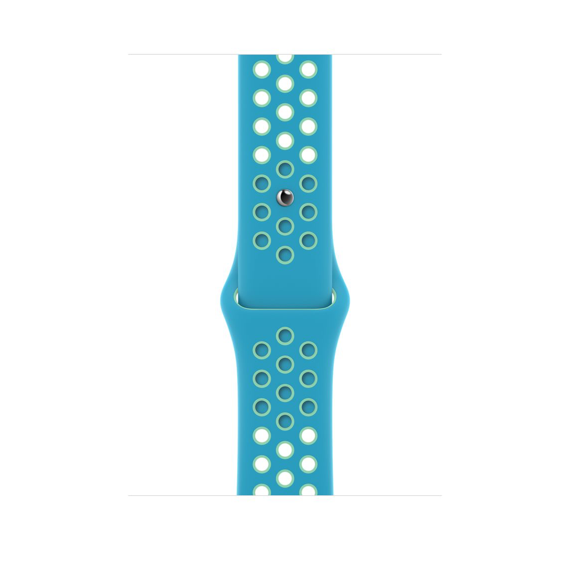 Apple Watch 40 mm Chlorine Blue/Green Glow Nike Sport Band Regular