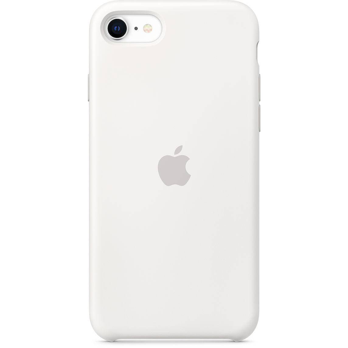 Apple iPhone SE Silicone Case White (2020)