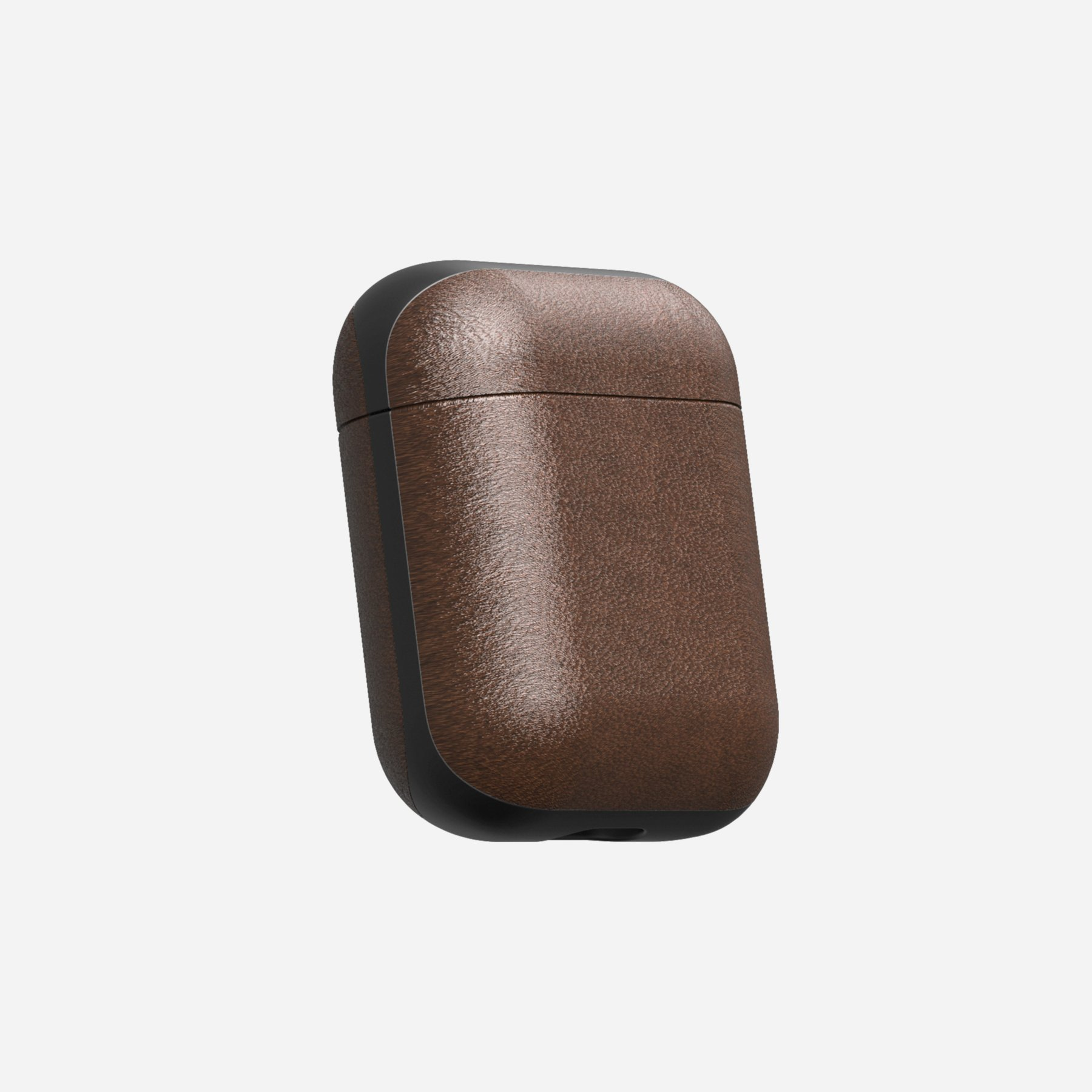 Nomad Airpod Case, Leather Rustic Brown