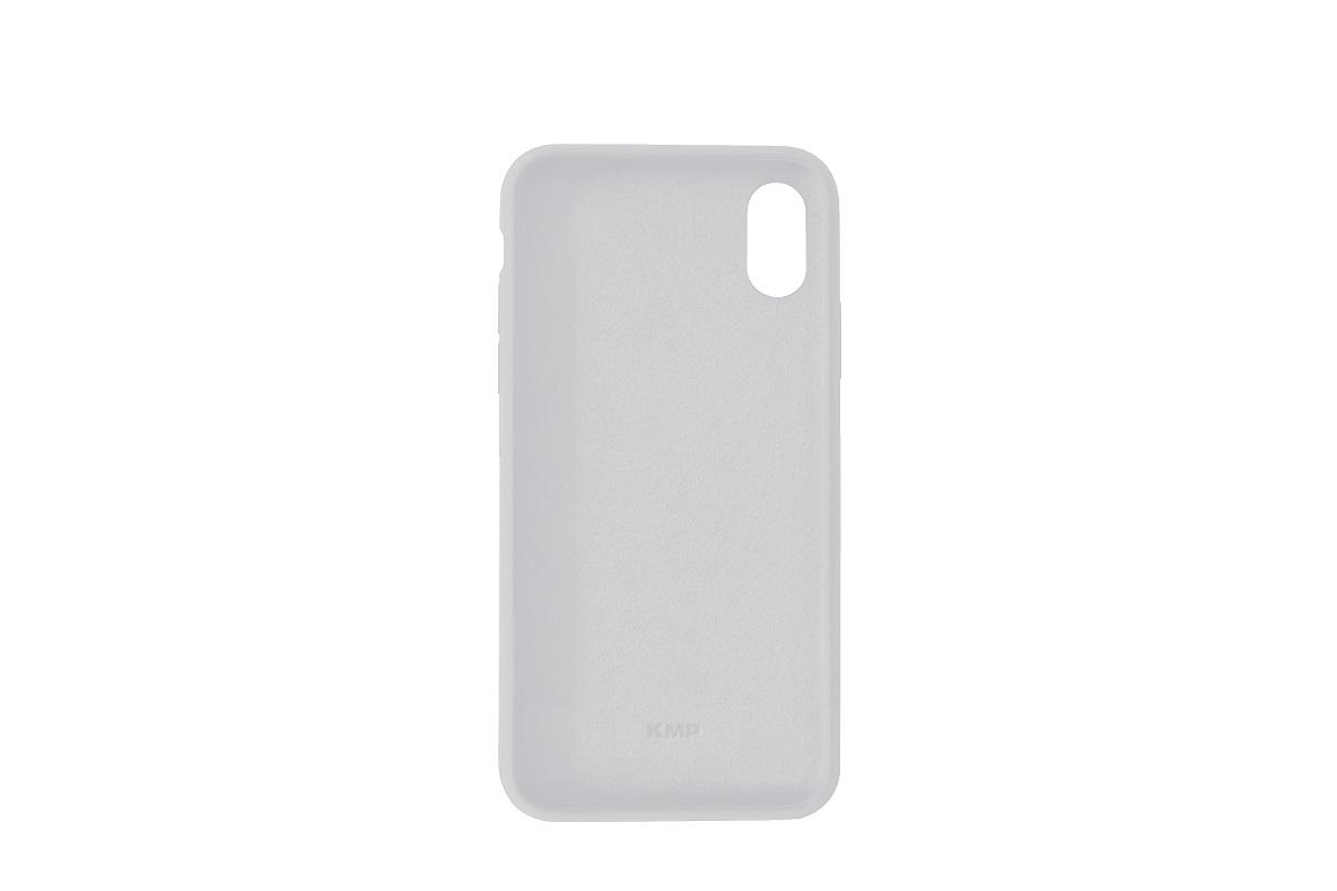 KMP Silicon Case iPhone XR Grau