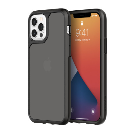 Griffin Survivor Strong Case für iPhone 12/12 Pro black