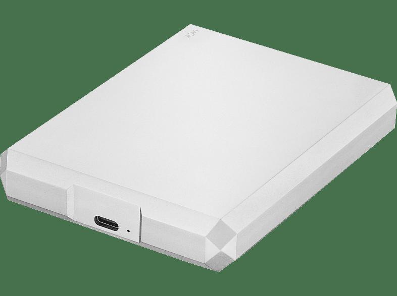 "LaCie 6,4 cm (2,5"") 4 TB Mobile Drive USB-C Moon Silver"