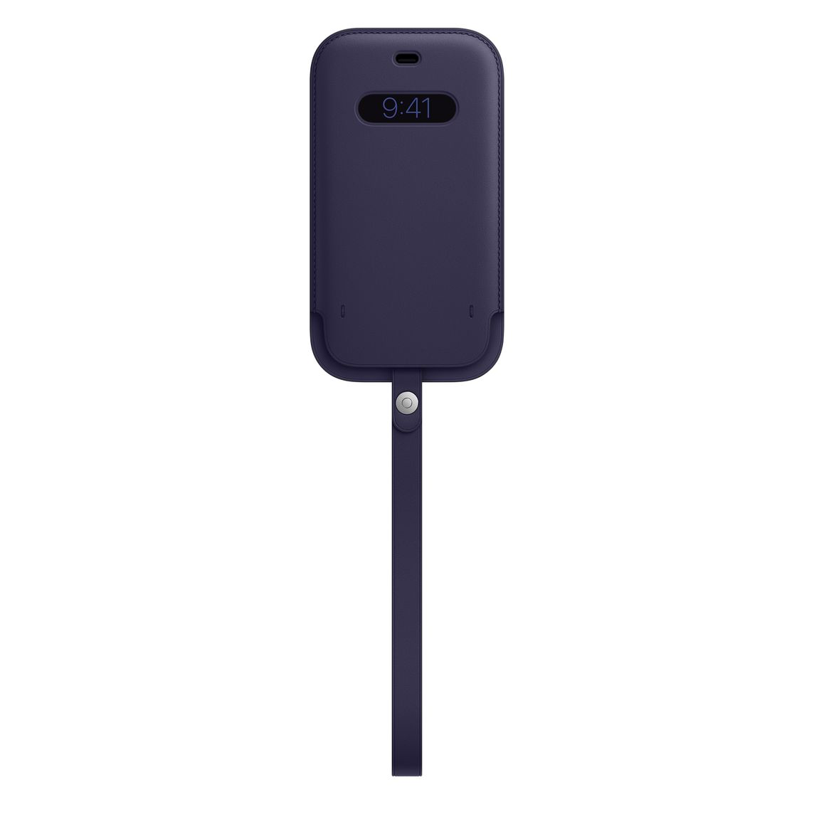Apple iPhone 12 Pro Max Leather Sleeve with MagSafe Deep Violet