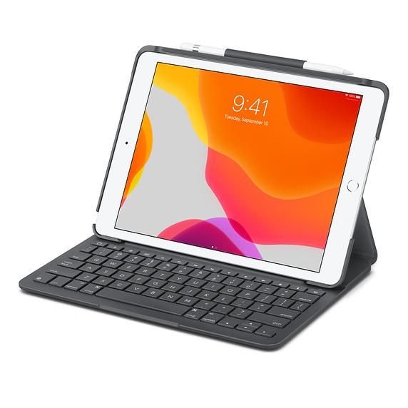 """Logitech Slim Folio für iPad 10.2"""" (7. Gen.) Graphite"""