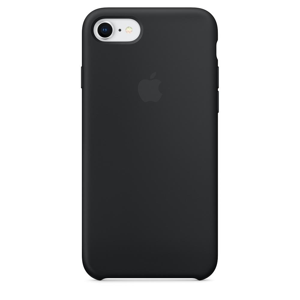 Apple iPhone 8 / 7 Silicone Case - Black