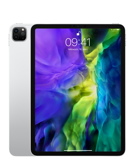 """Apple iPad Pro 11"""" Wi-Fi 1TB Silver (2020)"""
