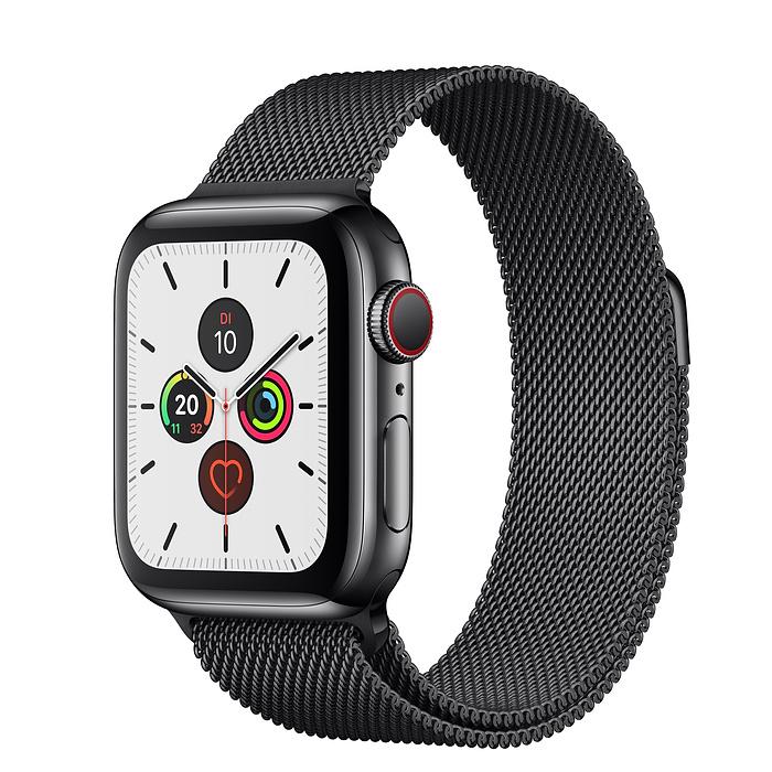 Apple Watch Ser5 Steel Space GPS+Cell 40mm Space Millanese