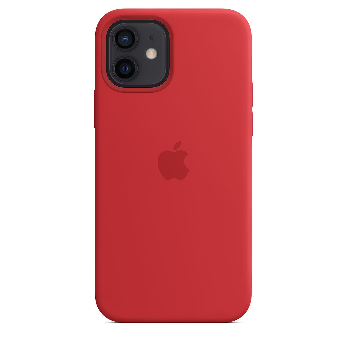Apple iPhone 12/12Pro Silicone Case with MagSafe (PRODUCT)RED