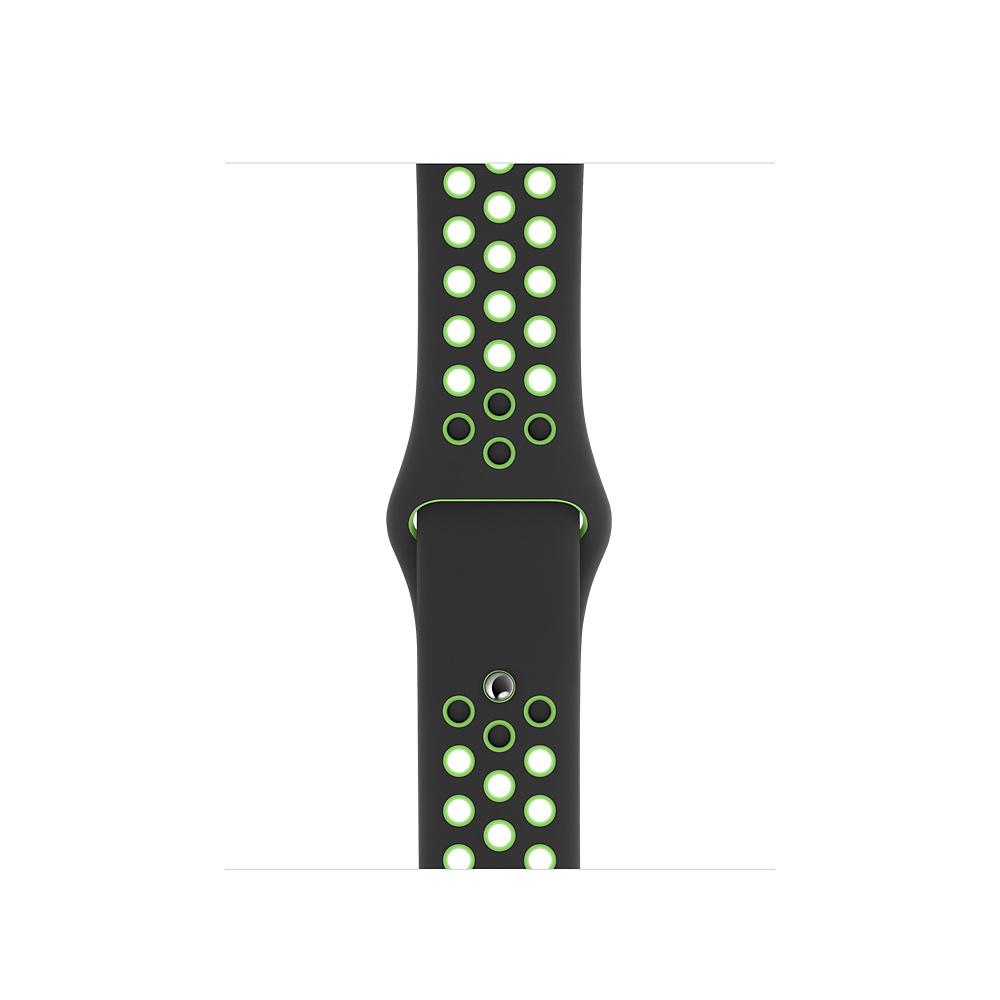 Apple Watch 40 mm Black/Lime Blast Nike Sport Band Regular