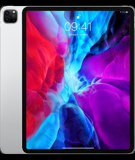 "Apple iPad Pro 12,9"" Wi-Fi + Cell 256 GB Silver (2020)"