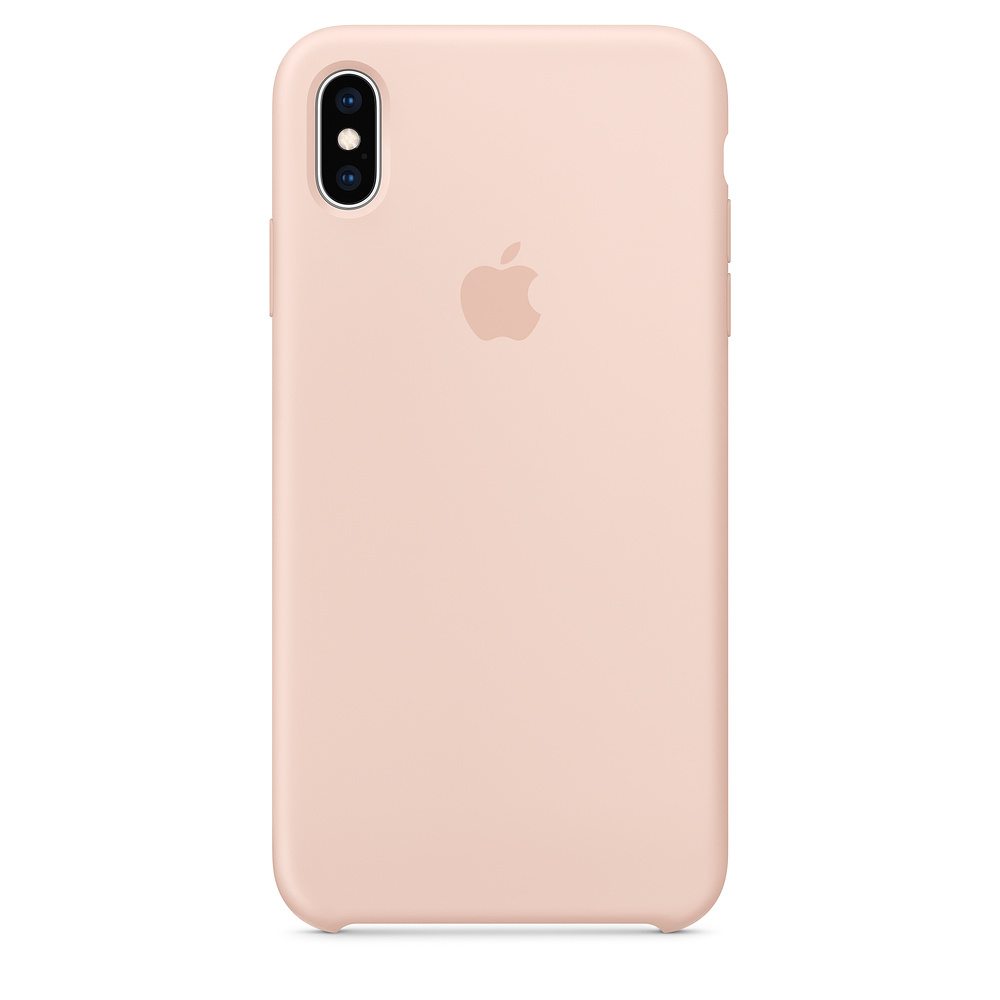 Apple iPhone XS Max Silicone Case - Pink Sand