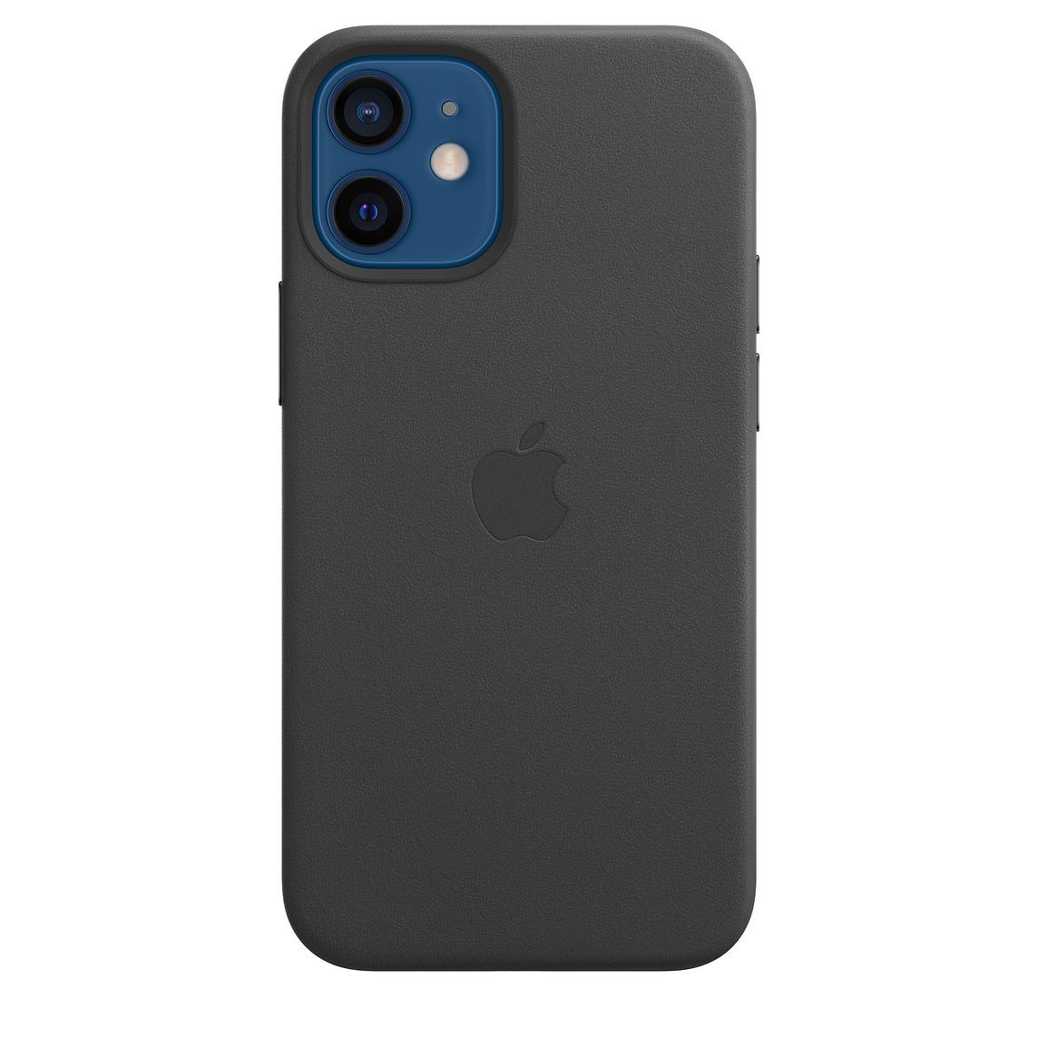 Apple iPhone 12 mini Leather Case with MagSafe Black