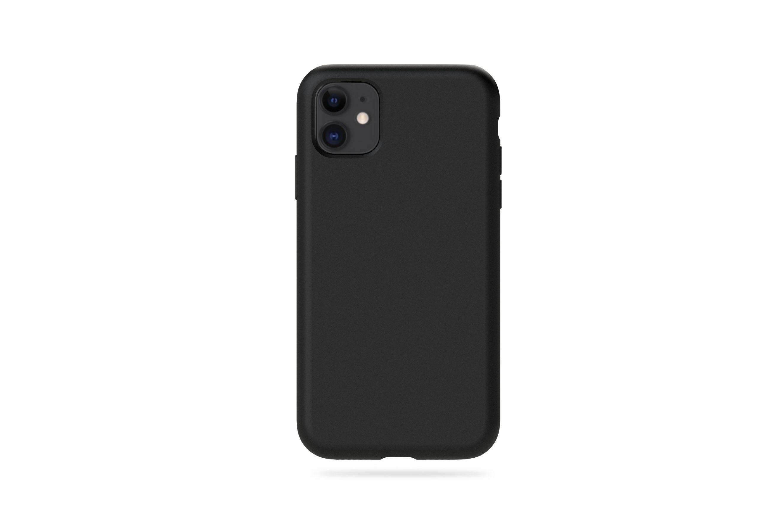 KMP Silicon Case iPhone 11, schwarz