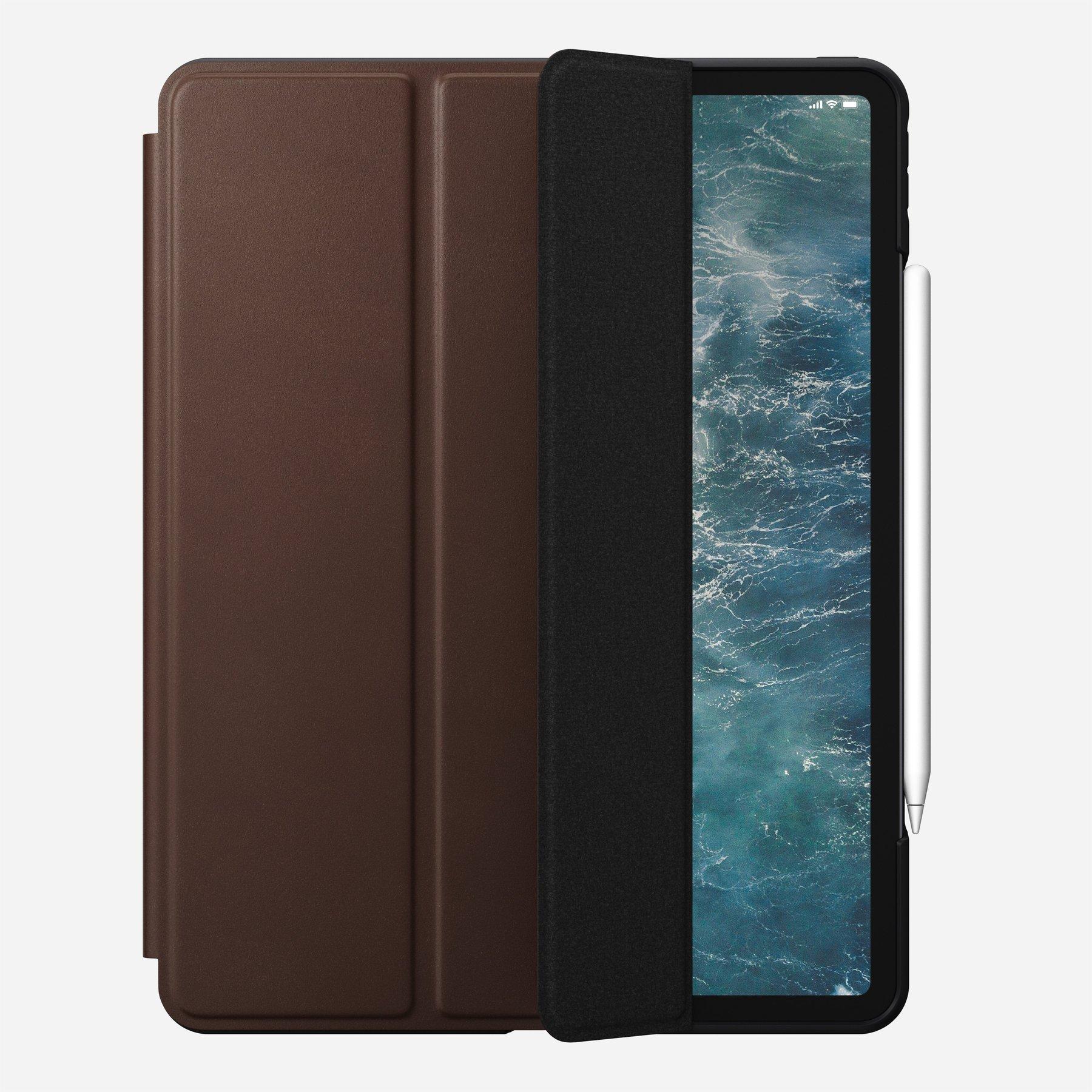 "Nomad Rugged Leather Folio Case für iPad Pro 12,9"" Rustic Brown"