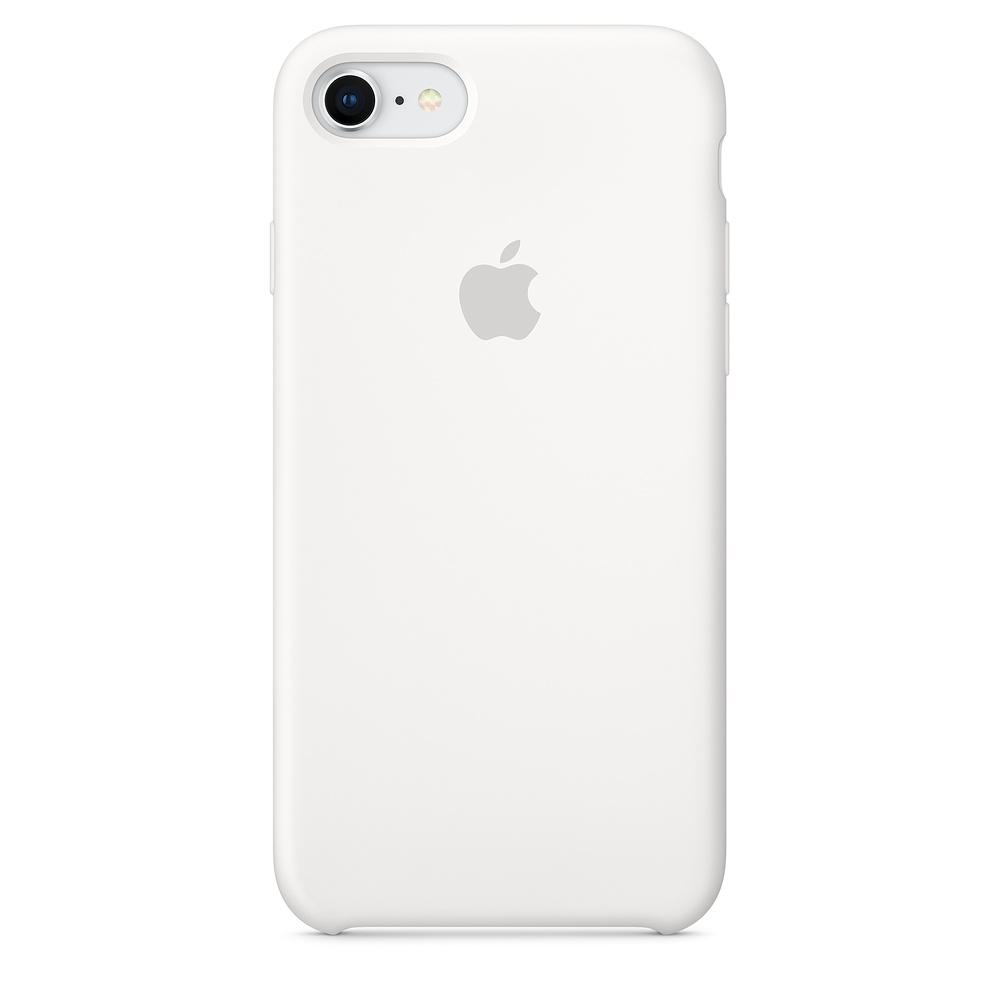 Apple iPhone 8 / 7 Silicone Case - White