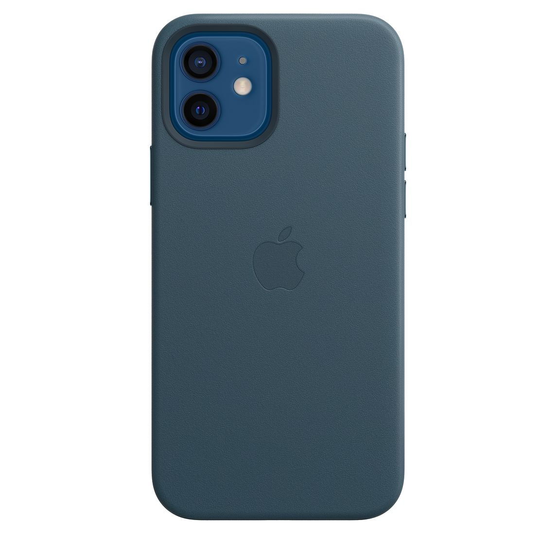 Apple iPhone 12/12Pro Leather Case with MagSafe Baltic Blue