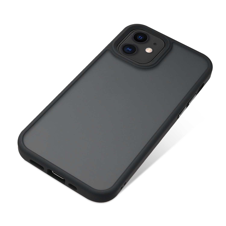 Nevox StyleShell Invisio für iPhone 12 mini black/clear