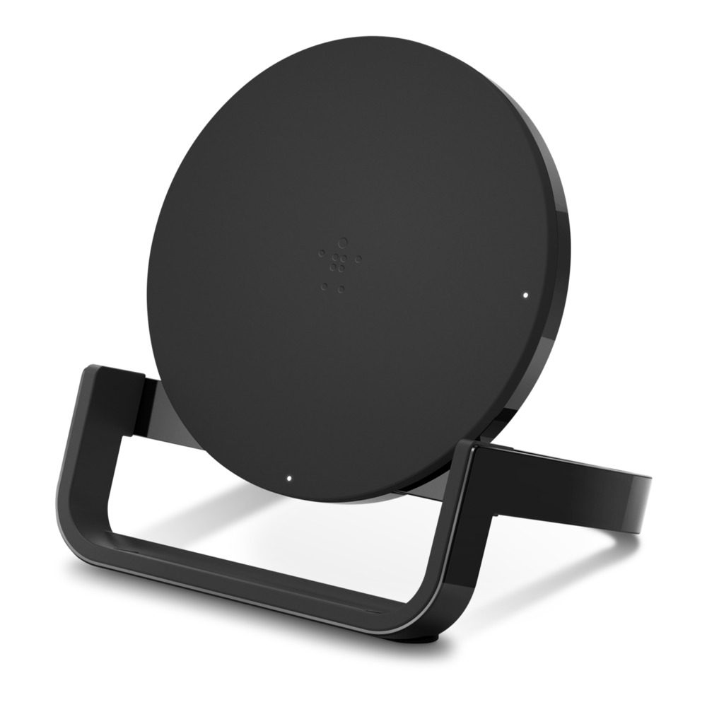 Belkin 10W Wireless Charging Stand black