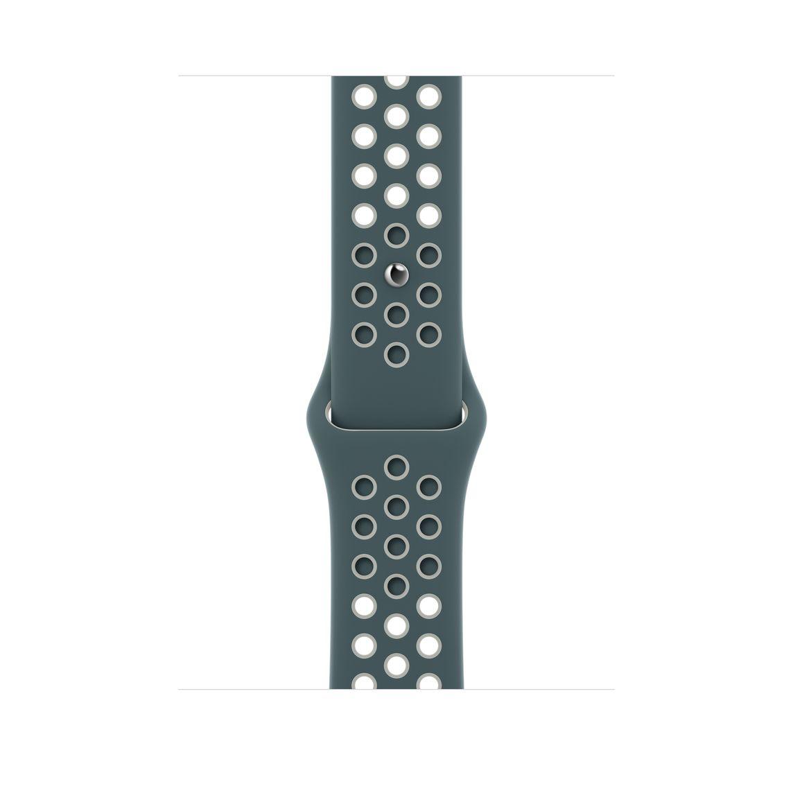 Apple Watch 40 mm Hasta/Light Silver Nike Sport Band Regular