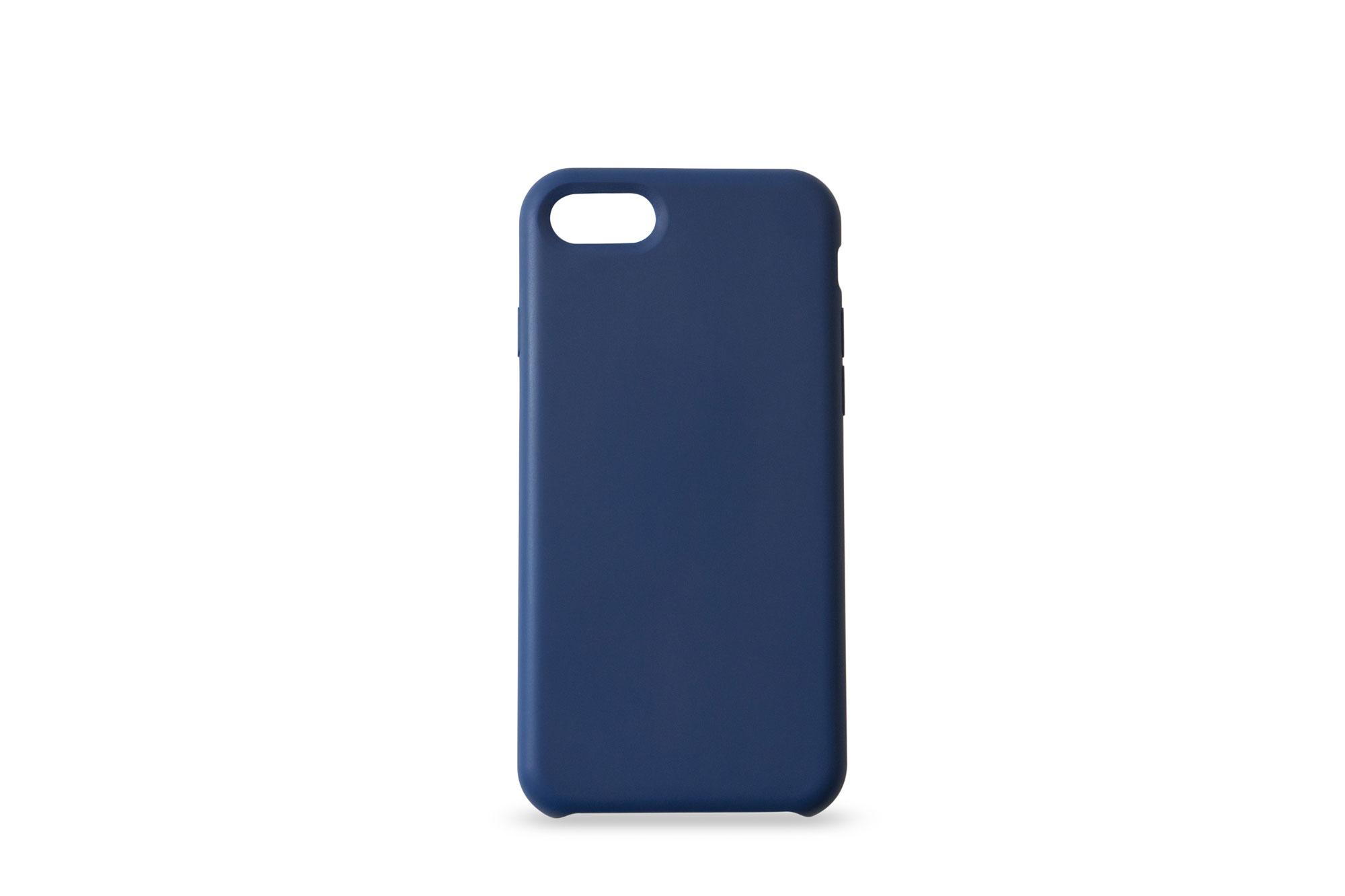 KMP Silicone Case iPhone 8/7 Blau