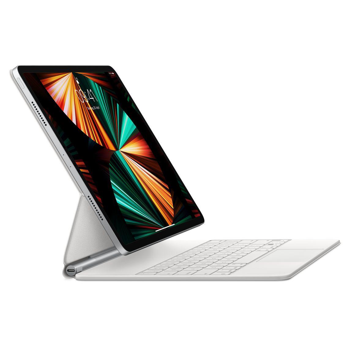 """Apple iPad Pro Magic Keyboard 12,9"""" (2021) German White"""